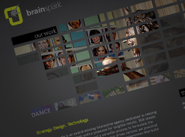 BrainSpark Media Website.