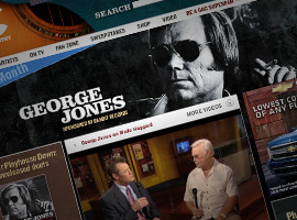 George Jones Artist Of The Month.