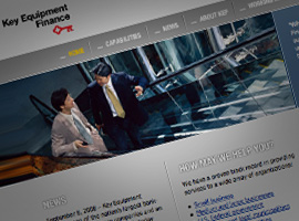 Key Equipment Finance Corporate Website.