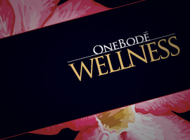 OneBodē Wellness: Brochure, trifold design.