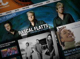 Rascal Flatts Artist Of The Month.